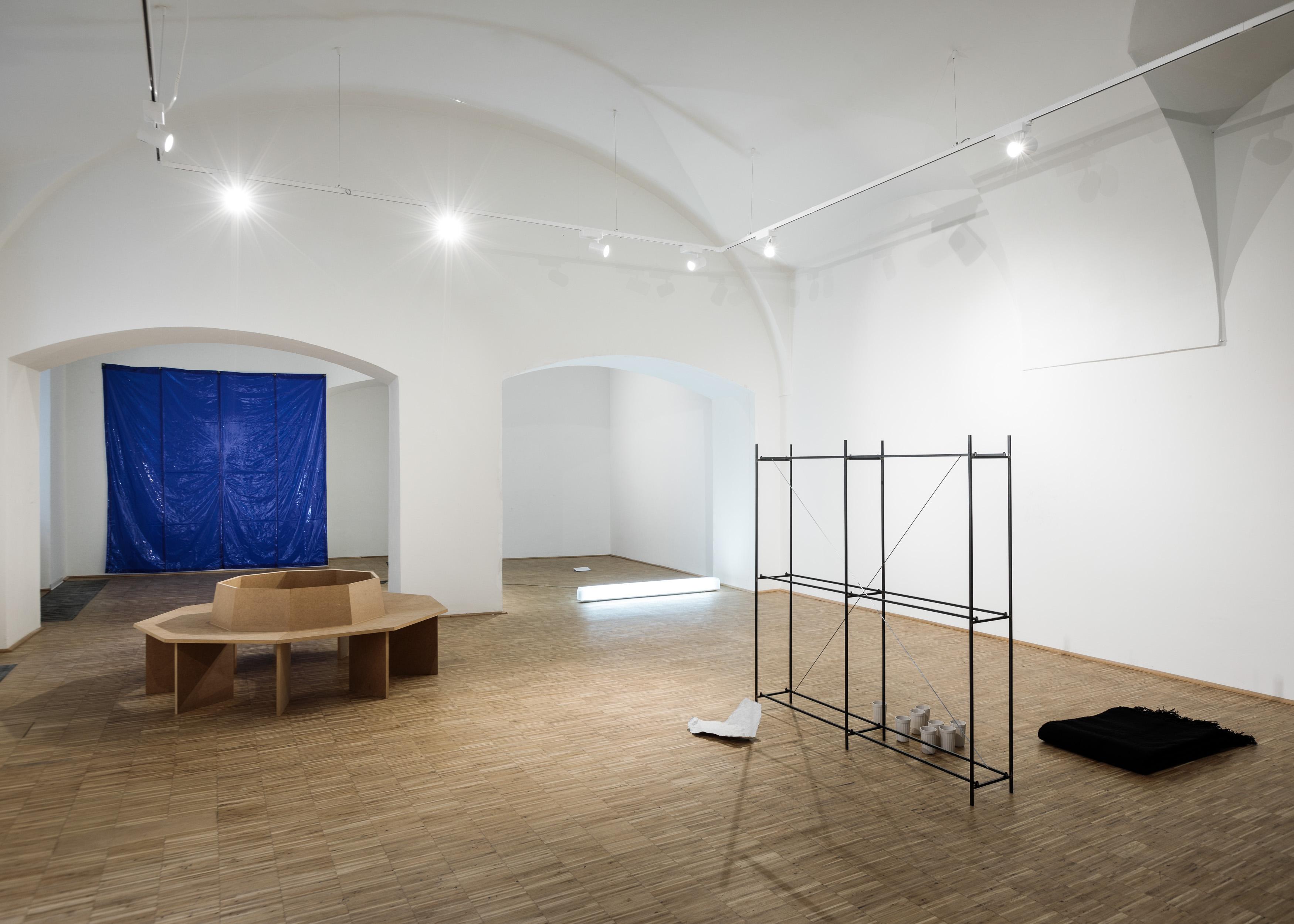 Ausstellungsansicht Felix Pöchhacker, Foto: Florian Voggeneder
